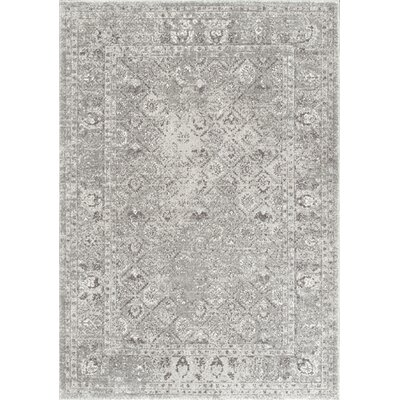 Obannon Gray Area Rug Rug Size: 8 x 10