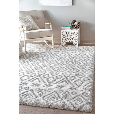 Petunia Gray Area Rug Rug Size: Rectangle 53 x 76