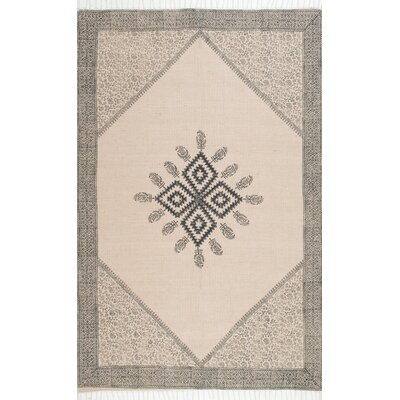 Marysville Beige/Brown Area Rug Rug Size: 8 x 10