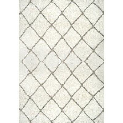 Potter Cream Area Rug Rug Size: 53 x 76