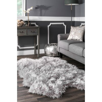 Droylsden Light Gray Area Rug