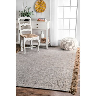 Wren Gray Area Rug Rug Size: Rectangle 96 x 136