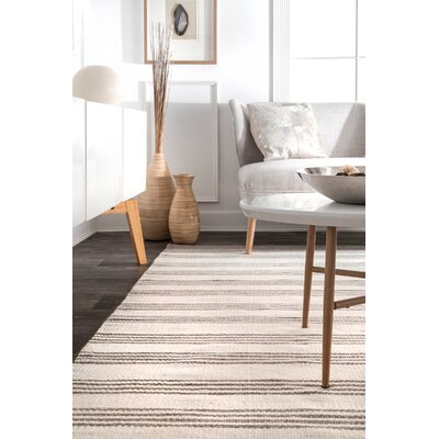 Partington Beige Area Rug Rug Size: Rectangle 7 6 x 9 6