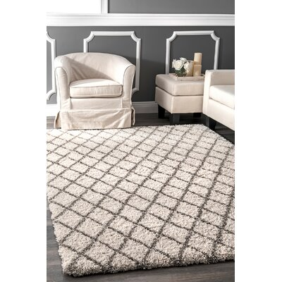 Sarita Ivory Area Rug Rug Size: Rectangle 7 6 x 9 6