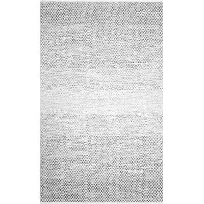 Sanora Cotton Black/White Area Rug Rug Size: Rectangle 7 6 x 9 6