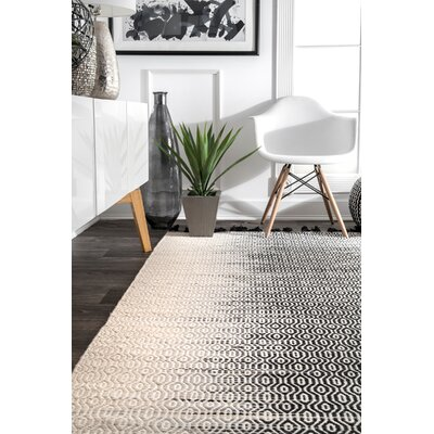 Baker Wool Gray Area Rug Rug Size: Rectangle 7 6 x 9 6