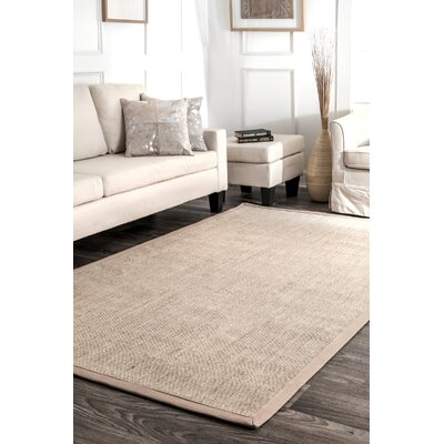 Belvidere Beige Area Rug Rug Size: Rectangle 9 x 12
