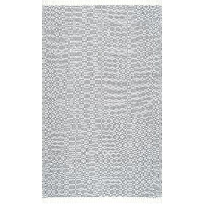 Parsley Hand-Woven Gray Indoor/Outdoor Area Rug Rug Size: Rectangle 5 x 7 5