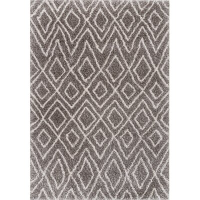 Osbourne Dark Gray Area Rug Rug Size: Rectangle 5 x 8