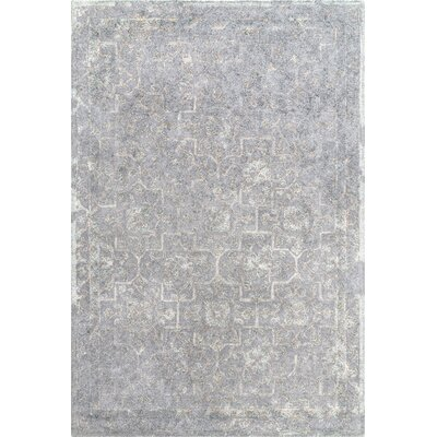 Aviana Hand-Tufted Gray Area Rug Rug Size: Rectangle 7 6 x 9 6