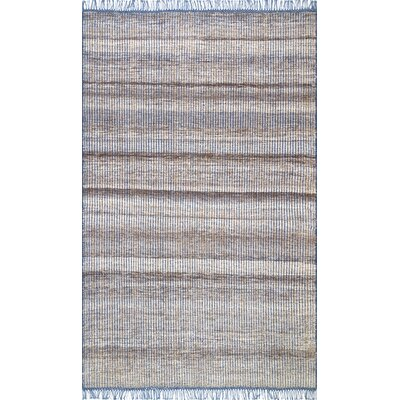 Parry Cotton/Wool Beige Area Rug Rug Size: Rectangle 7 6 x 9 6