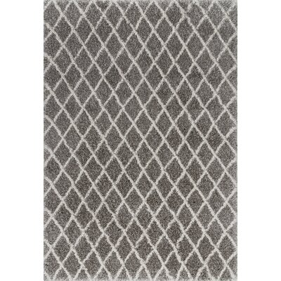 Chaunce Dark Gray Area Rug Rug Size: Rectangle 5 x 8