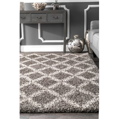 Ely Gray Area Rug Rug Size: Rectangle 5 x 8