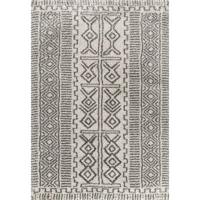 Steele Ivory Area Rug Rug Size: Rectangle 4' x 6'