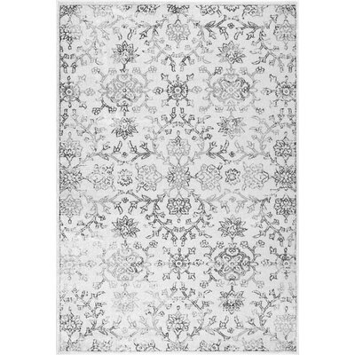 Partee Gray Area Rug Rug Size: Rectangle 7 6 x 9 6