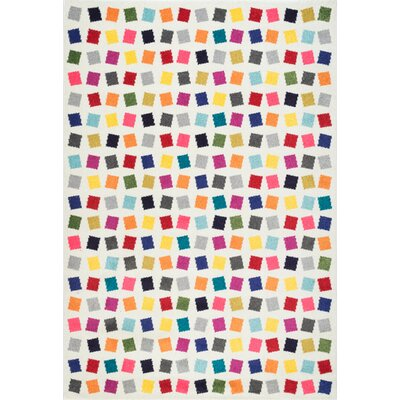 Baynard Yellow/Blue/Pink Area Rug Rug Size: Rectangle 8 x 10