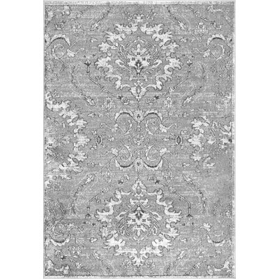 Mariam Dark Gray Area Rug Rug Size: Rectangle 7 6 x 9 6