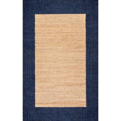 Partida Navy/Beige Area Rug Rug Size: Rectangle 7 6 x 9 6