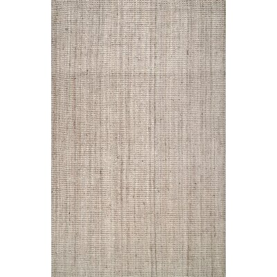 Partin Hand-Woven Beige Area Rug Rug Size: Rectangle 7 6 x 9 6