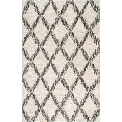 Johnsburg Ivory Area Rug Rug Size: Rectangle 9 x 12