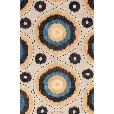 Bella Sonesta Sandstone Area Rug Rug Size: 76 x 96