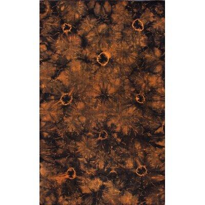 Couture Kilim Splash III Orange Rug Rug Size: 5 x 8