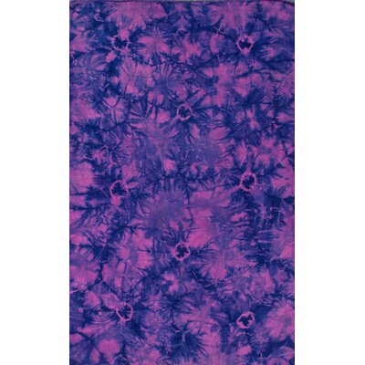 Couture Kilim Splash IV Pink Rug Rug Size: Rectangle 8 x 10
