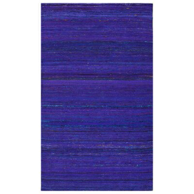 Avignon Horizon Hand-Flat Woven Blue Area Rug Rug Size: Rectangle 47 x 67