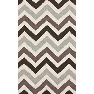 Chelsea Chevron Earth Area Rug Rug Size: 76 x 96