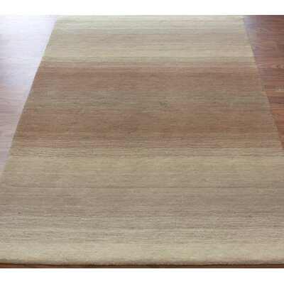 Marbella Ombre Hand-Tufted Wool Beige Area Rug Rug Size: Rectangle 5 x 8