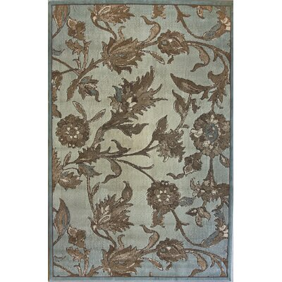 Diana Royal Jardin Sage Area Rug Rug Size: Rectangle 710 x 1010