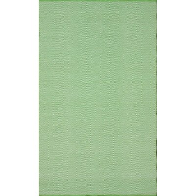 Keen Hand-Woven Green Area Rug Rug Size: Rectangle 5 x 8