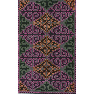 Fancy Multi Bella Rug Rug Size: 76 x 96