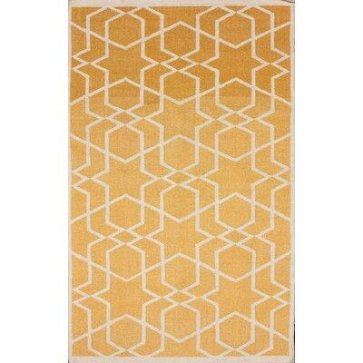 Gelim Trellis Sunshine Geometric Area Rug Rug Size: 5 x 8