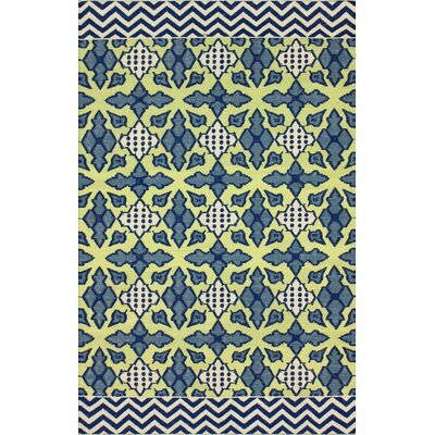 Metro Regal Blue Naples Rug Rug Size: 8 x 10