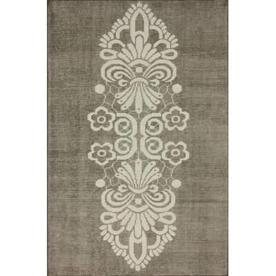 Overdye Tribal Hand-Knotted Brown/Tan Area Rug Rug Size: Rectangle 8 x 10