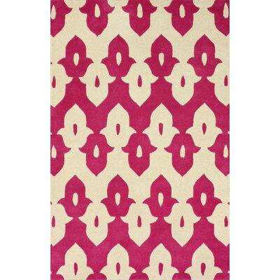 nuLOOM Moderna Pink Ikat Trellis Area Rug - Rug Size: 5' x 8' at Sears.com