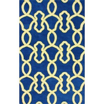 Moderna Ocean Blue Splendid Rug Rug Size: 76 x 96