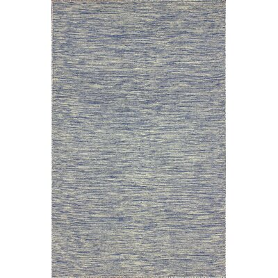 Ayers Wool Blue/Gray Area Rug Rug Size: Rectangle 76 x 96
