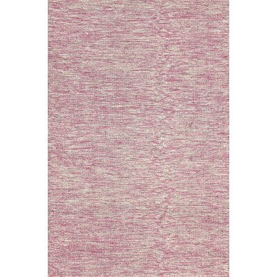 Ayers Wool Pink Area Rug Rug Size: Rectangle 5 x 8