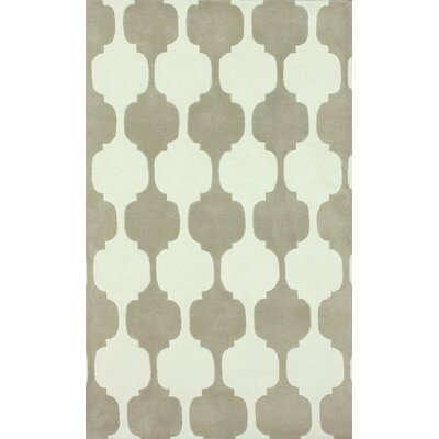 Gradient Brown Daisy Area Rug Rug Size: 5 x 8