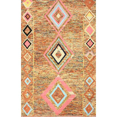 Marbella Brown Area Rug Rug Size: Rectangle 6 x 9