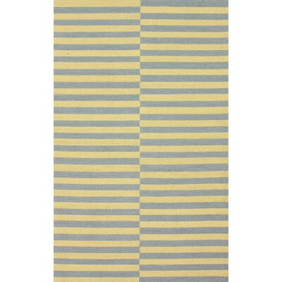 Brilliance Gold Stitch Rug Rug Size: 76 x 96