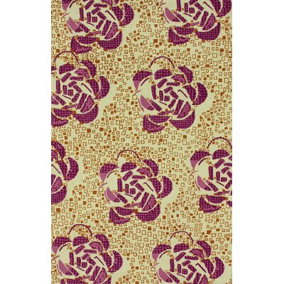 Goodwin Floating Bud Area Rug Rug Size: 5 x 8