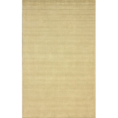 Goodwin Hand-Tufted Champagne Area Rug Rug Size: Rectangle 76 x 96
