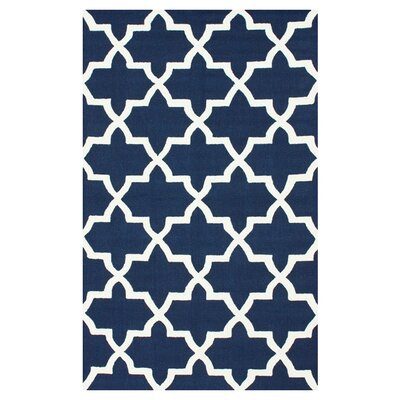 "nuLOOM Nadia Trellis Navy Area Rug - Rug Size: Runner 2'6"" x 8' at Sears.com"
