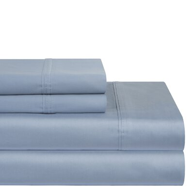 400 Thread Count Sheet Set Size: Queen, Color: Dusty Blue