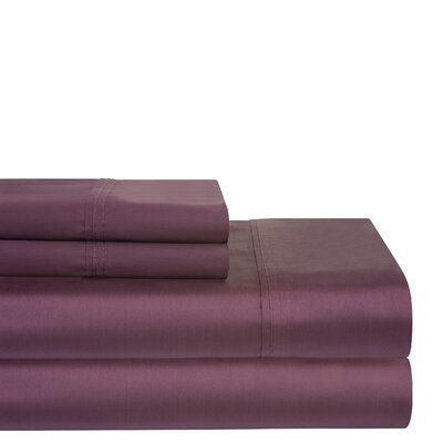 400 Thread Count Sheet Set Size: Full, Color: Plum