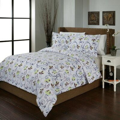 Spring Ivy Duvet Cover Set Size: Twin/Twin XL