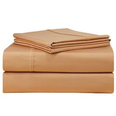 Birch Lane Classics Sheet Set Size: Queen, Color: Espresso